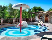 Kid's pool in the hotel Crystal De Luxe Resort & Spa 5* (Kemer, Turkey)