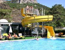 Water slide of the Grand Viking Hotel 4* (Kemer, Turkey)
