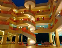 Lobby in hotel Golden Lotus 4* (Kemer, Turkey)