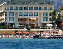 Panorama of hotel Golden Lotus 4* (Kemer, Turkey)