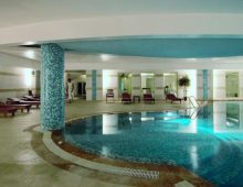 Indoor pool in hotel Golden Lotus 4* (Kemer, Turkey)