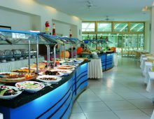 Restaurant in hotel Golden Lotus 4* (Kemer, Turkey)
