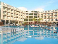 Building of the Eldar Resort Hotel 4* in Goynuk, Kemer, Turkey