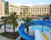 Panorama of the Eldar Resort Hotel 4* in Goynuk, Kemer, Turkey