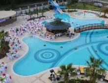 Pool of the Eldar Resort Hotel 4* in Goynuk, Kemer, Turkey