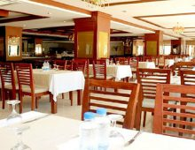Restaurant of the Eldar Resort Hotel 4* in Goynuk, Kemer, Turkey