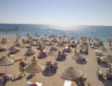 Beach of the Selcukhan Hotel 4* (Kemer, Turkey)