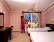 Room in the Selcukhan Hotel 4* (Kemer, Turkey)