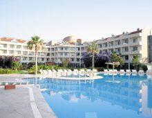 Building of the hotel Fame Residence Goynuk 4* (Kemer, Turkey)