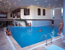 Indoor pool in the hotel Fame Residence Goynuk 4* (Kemer, Turkey)