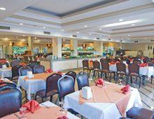 Restaurant in the Club Hotel Sunbel 4* (Beldibi, Kemer, Turkey)
